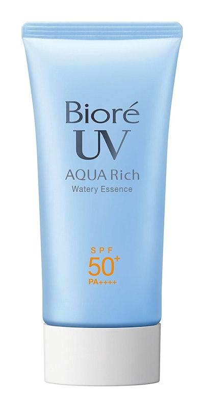 Biore Sarasara Aqua Rich Watery Essence SPF50+