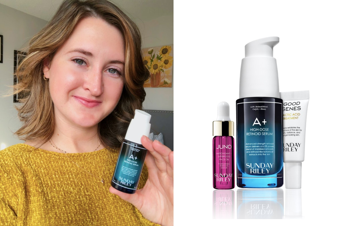 This Sunday Riley A+ Serum Review Will Convince You Not All Retinoids Are Scary For Sensitive Skin