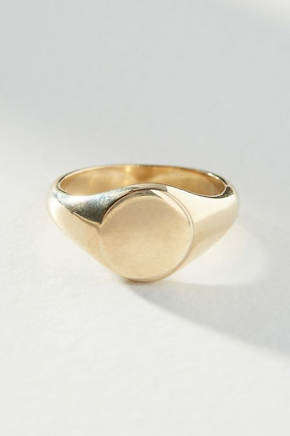 Phyllis Oval Signet Ring