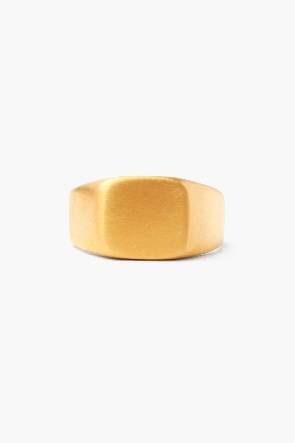 Chan Luu Gold Signet Square Ring