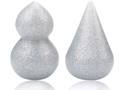 COSME 3D Glitter Silicone Makeup Sponges