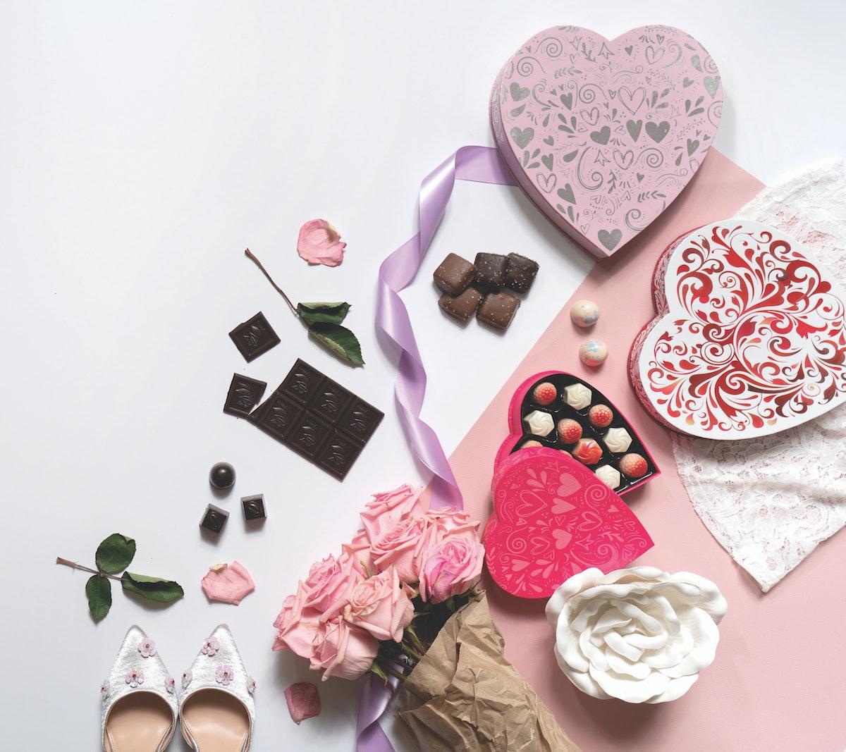 Glacier Confection Truffle Heart Boxes