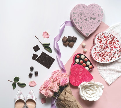 Glacier Confection Truffle Heart Boxes