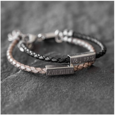 Engraveitnow07 Men's Personalized Bracelet