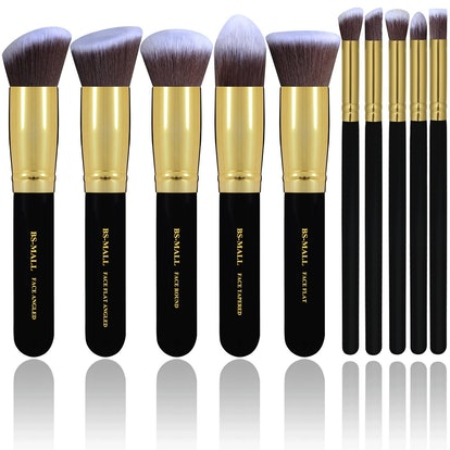 BS Mall Premium Makeup Brush Set (10 Brushes)