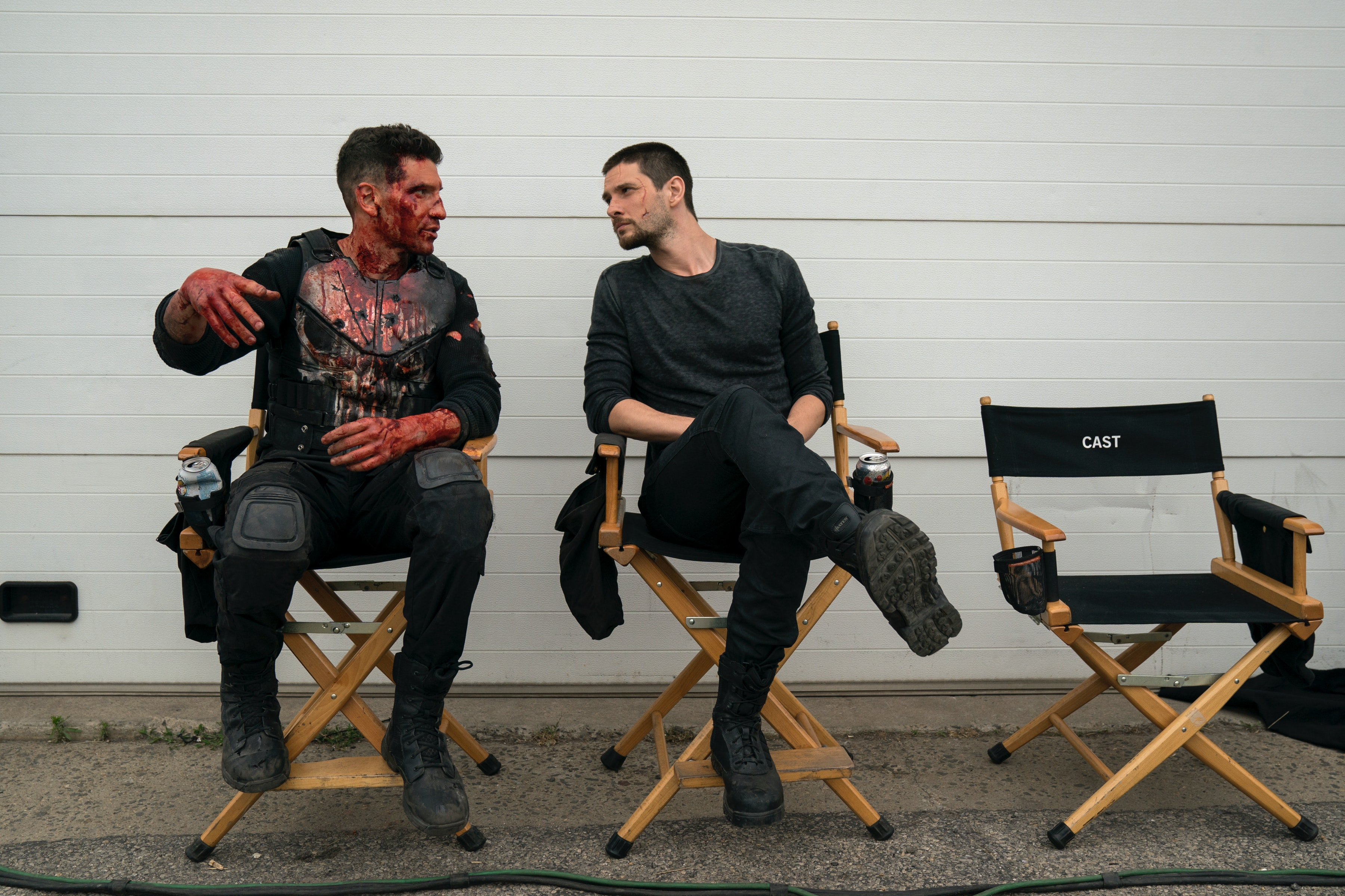 The Punisher' Cast On Their Favorite Brand Of Fake Blood