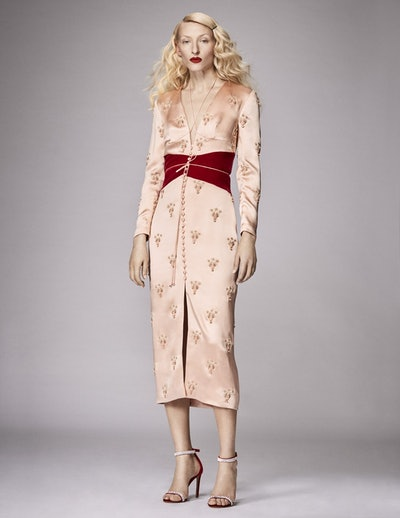 Ramesses Scarab Gemini Silk Dress
