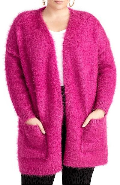 Amara Fuzzy Cardigan