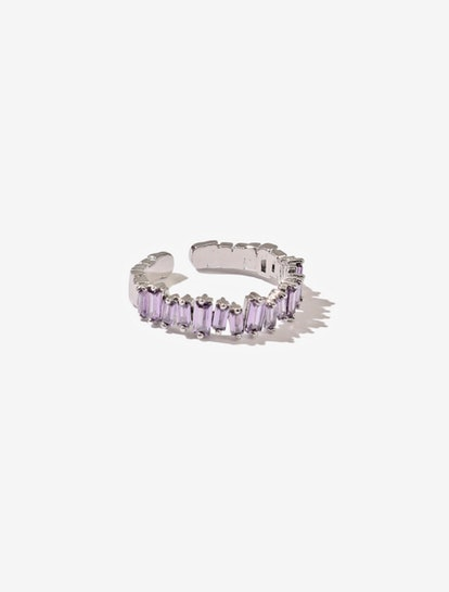 Roger Lavender Crystal Ring