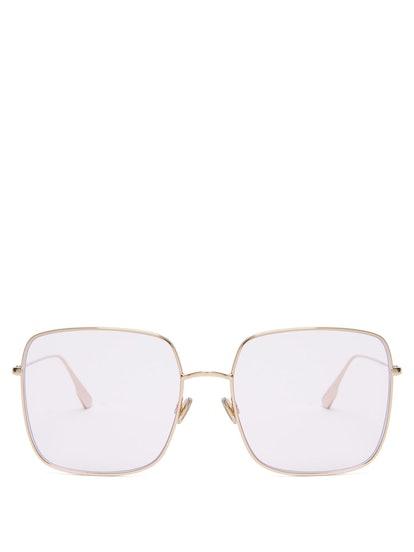DiorStellaire Iridescent Square Sunglasses