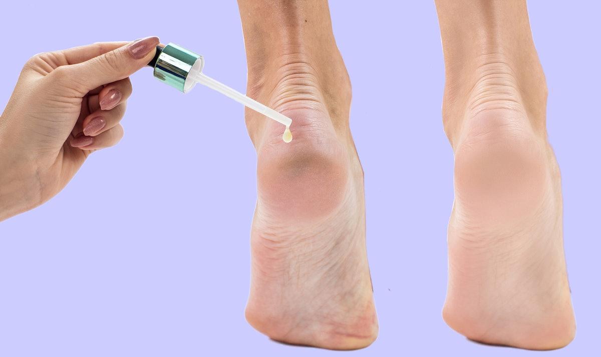 The 3 Best Oils For Dry Feet