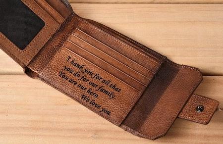 Minjing Personalized Men's Wallet
