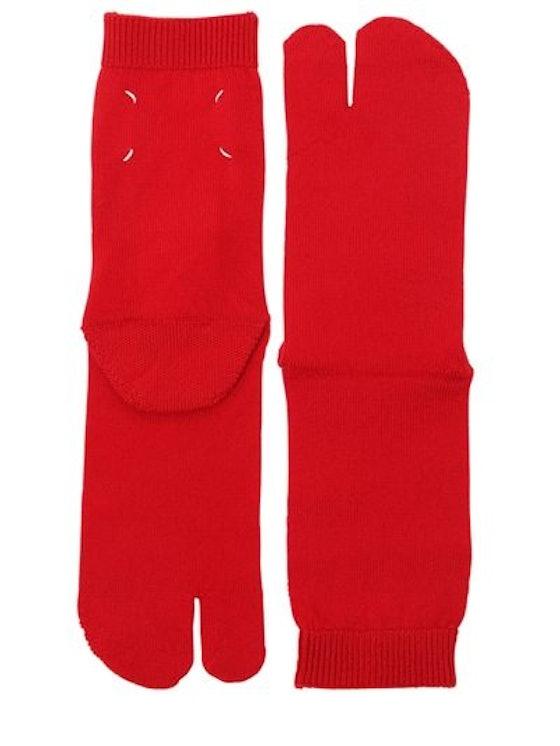 Maison Margiela Tabi Wool Knit Socks