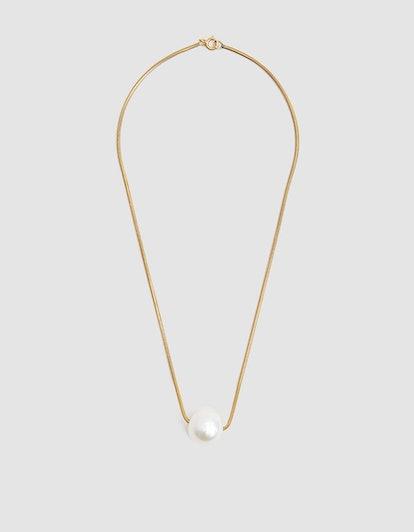 Baroque Pearl Collar Necklace