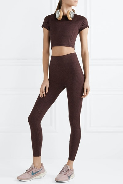 The Synergy Stretch-Jersey Leggings