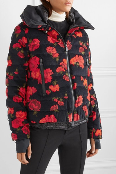3 Grenoble Floral-Print Quilted Cotton-Blend Down Jacket