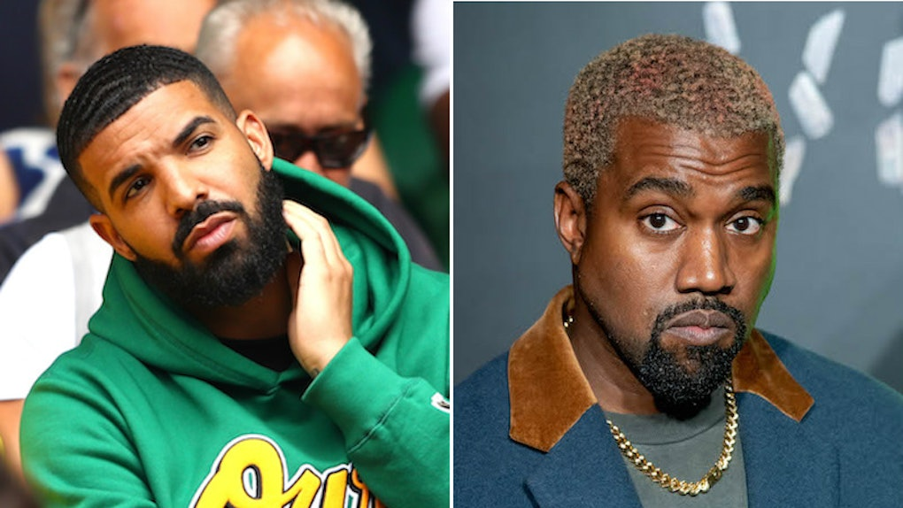 cabacd6868cb 7 People Kanye West   Drake Have In Common That Make Their Feud Kind Of  Awkward