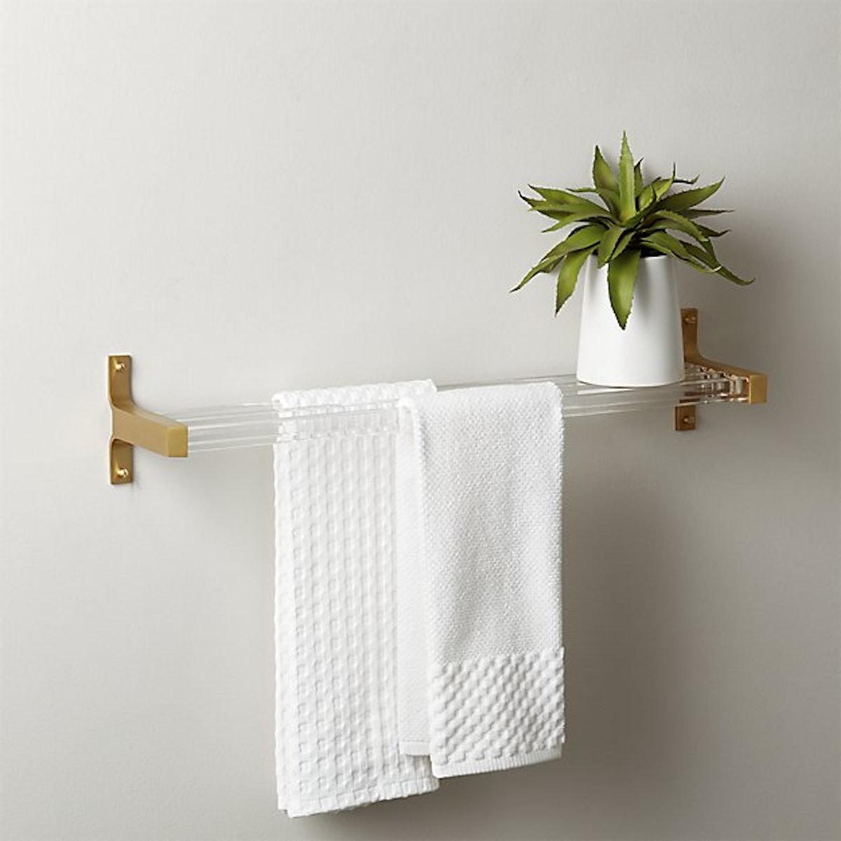 Small Cubo Acrylic Bathroom Shelf