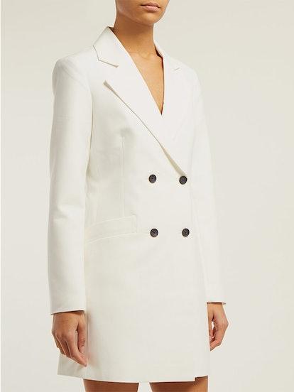 Roxy Double-Breasted Tuxedo Mini Dress