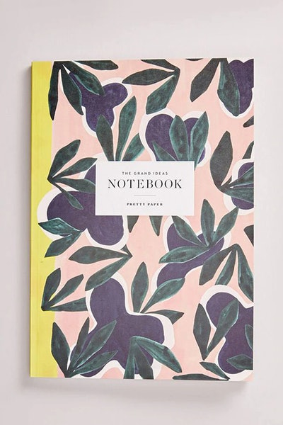 Pretty Paper Botatnical Printed Notebook