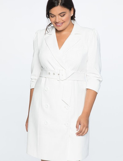 Puff Sleeve Blazer Dress