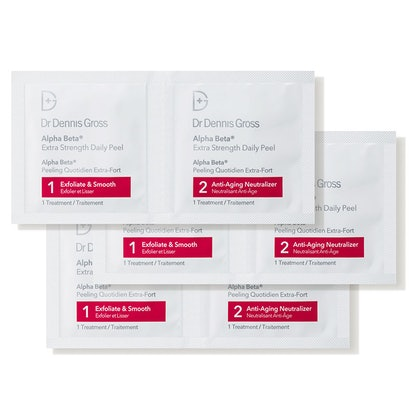 Dr. Dennis Gross Skincare Alpha Beta Extra Strength Daily Peel - Packettes (60 count)
