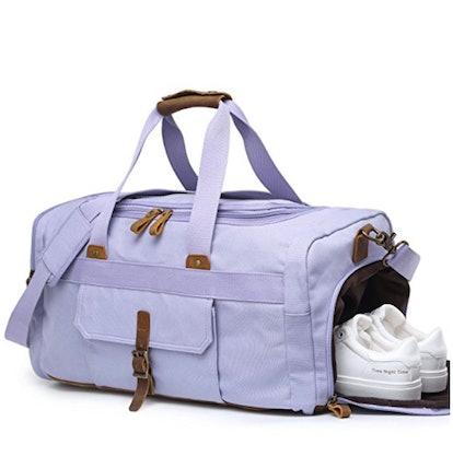 Bluboon Weekender With Shoe Pocket