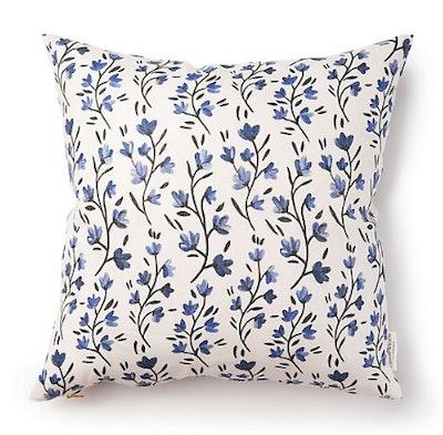 Caitlin Wilson Bluebelle Pillow