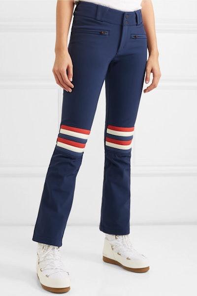 Aurora Flare Striped Ski Pants