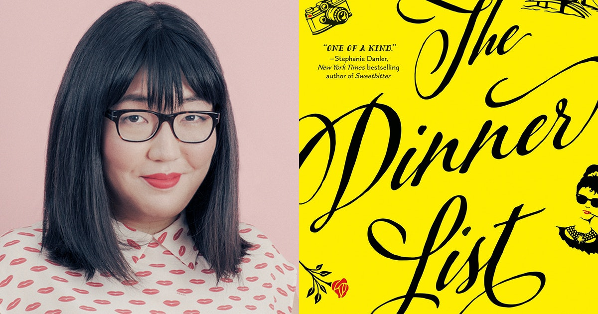 Jenny Han Chose January's Bustle Book Club Pick — And It's 'The Dinner List' By Rebecca Serle