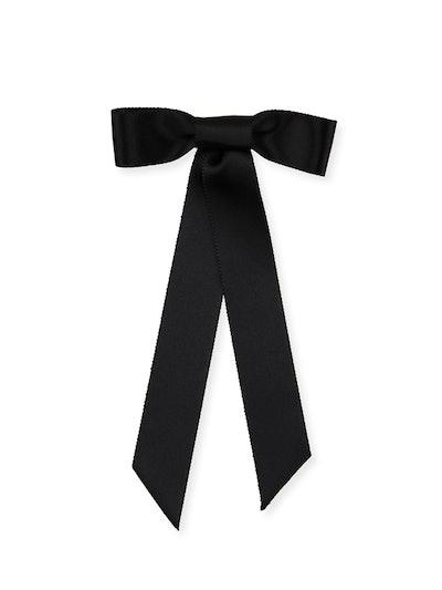 Silk Satin Bow Barette