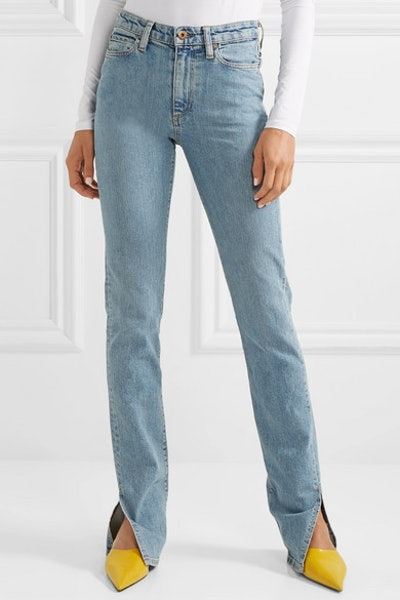 W009 Arizpe High-Rise Slim-Leg Jeans