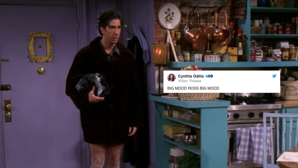 This Ross From 'Friends' Meme About Jan  2 Is The Most