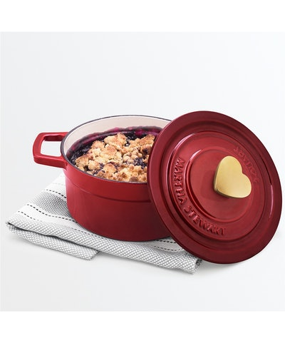 Martha Stewart Enameled Cast Iron Dutch Oven