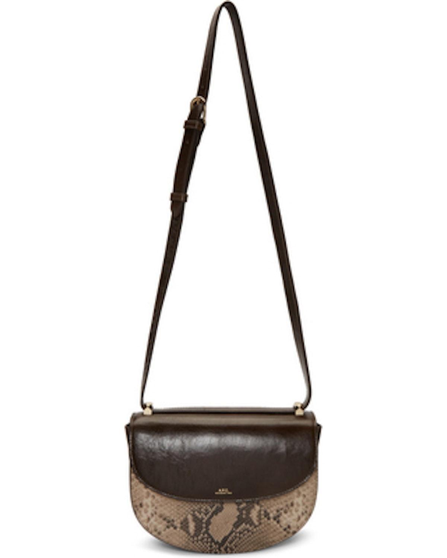 Brown Python Geneve Bag