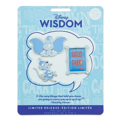 Disney Wisdom Pin Set - Dumbo - January - Limited Release