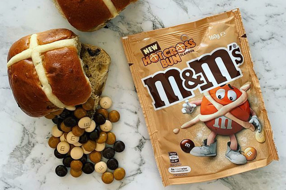 Where Can You Buy Hot Cross Bun M&M's? These Easter Treats Are Tricky To Get Your Hands On