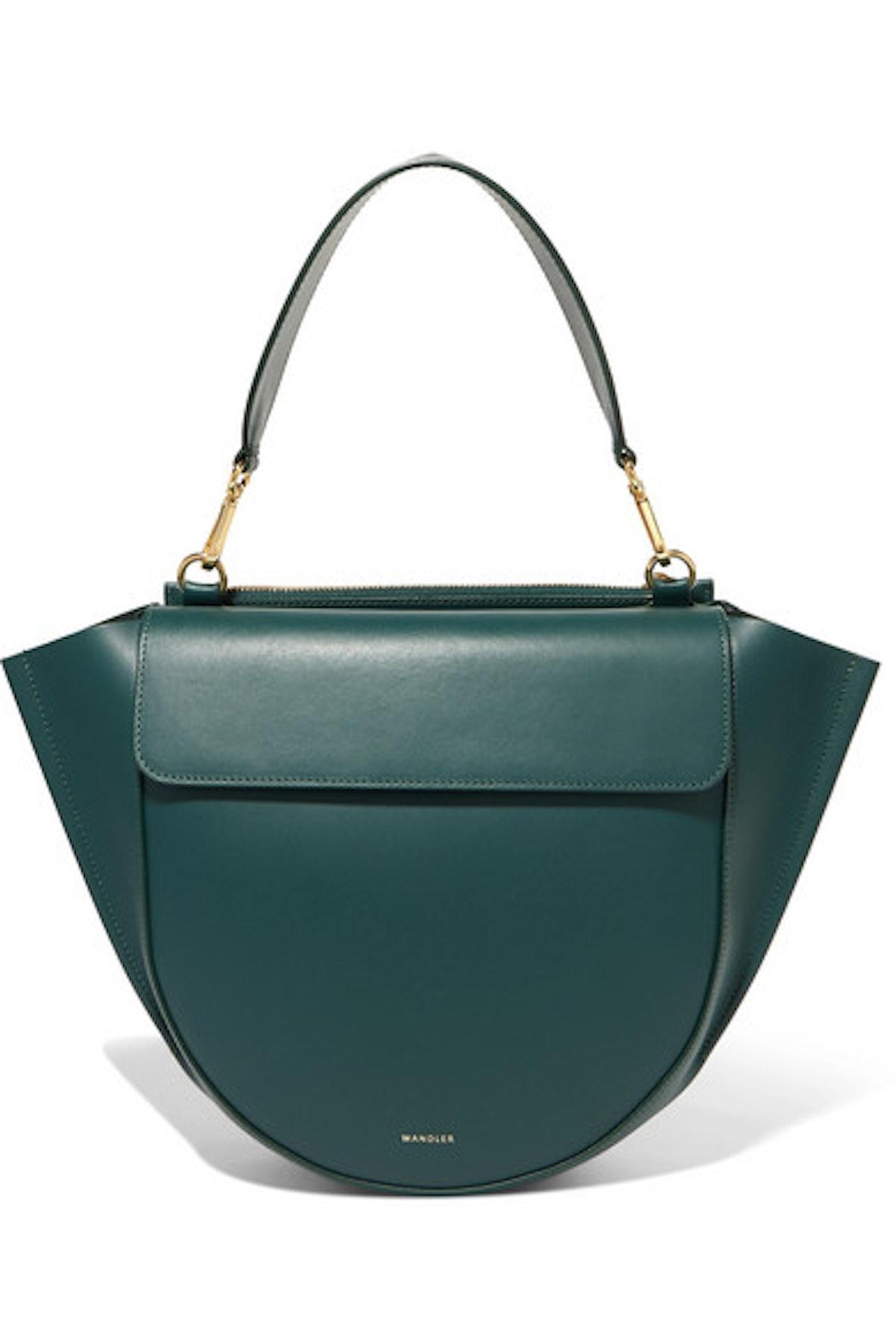 Hortensia Medium Leather Bag