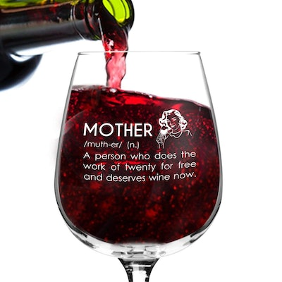 Mother Definition Wine Glass