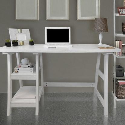 Convenience Concepts Designs2Go Trestle Writing Desk