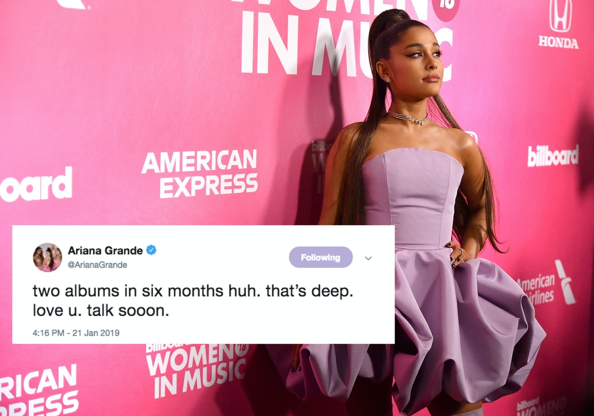 Ariana Grande's New Album Release Date Is Around The Corner & You Can Preorder It So Soon