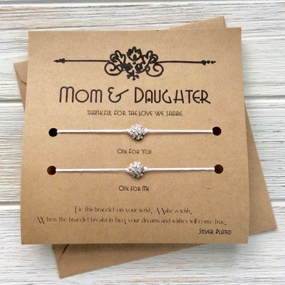 Mother And Daughter Wish Bracelets
