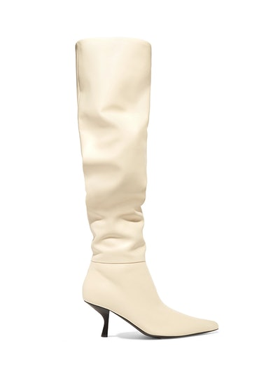 Bourgeoise Leather Knee Boots