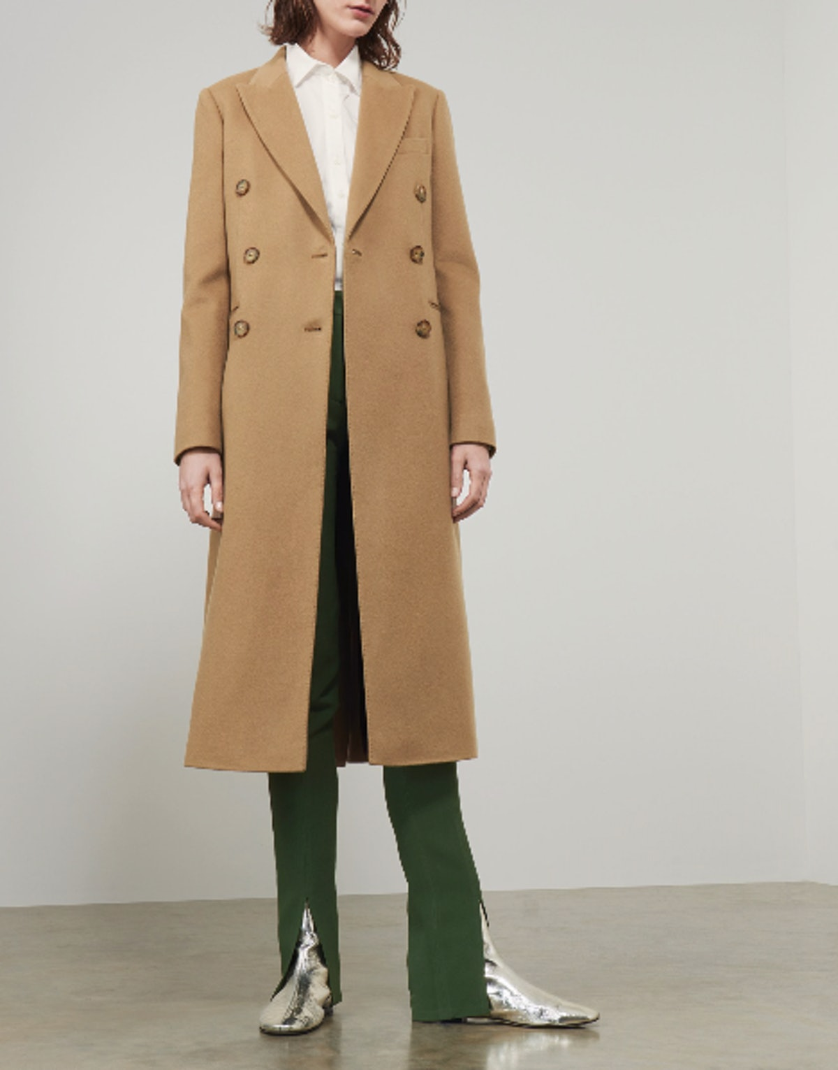 Tailored Slim Coat