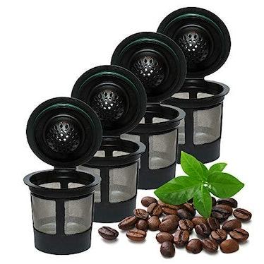 iPartsPlusMore Reusable K Cups (4 Pack)
