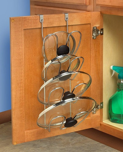 Spectrum Diversified Over-The-Cabinet Lid Organizer