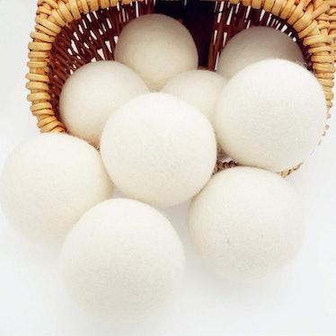 Woolous Organic Wool Dryer Balls (6 Pack)