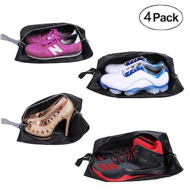 YAMIU Travel Shoe Bags (4 Pack)