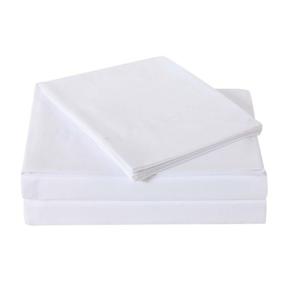 Truly Soft Everyday Queen Sheet Set in White