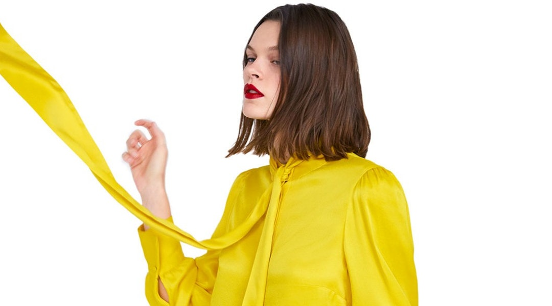 d36ffde74f9 Zara s Spring 2019 Arrivals Are Hinting At The Next Bright Color Trend To  Know
